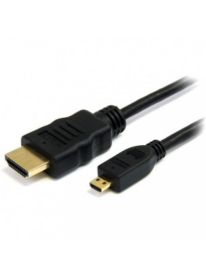 CABLE HDMI - micro HDMI 0,8 MTS