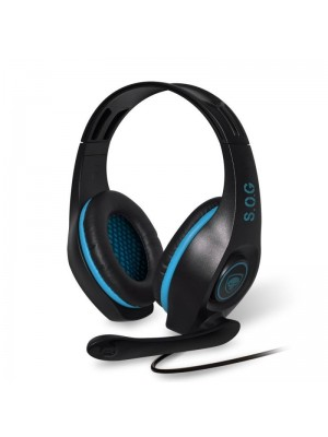 Auriculares Gaming con Micrófono Spirit of Gamer PRO-H5- Jack 3.5- Azules