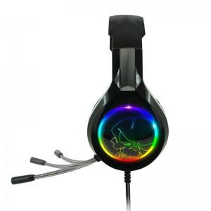 Auriculares Gaming con Micrófono Spirit of Gamer PRO-H8- Jack 3.5- USB 2.0