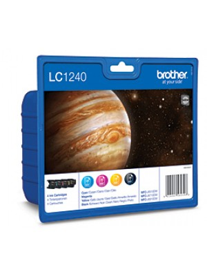 BROTHER LC1240 PACK4