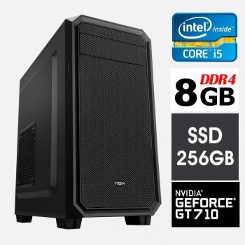 ORDENADOR INBOX I5 9400F 8GB SSD 256GB NVIDIA 710