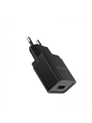 ADAPTADOR 220V A USB 1A BA19A NEGRO