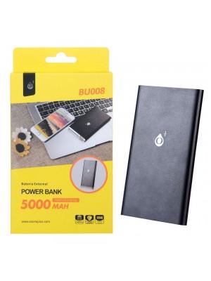POWER BANK 5000mAh BU008 NEGRA
