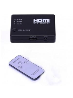 HDMI SWITCH 3 PUERTOS CON MANDO
