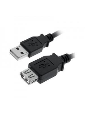 CABLE USB 2.0 1,8 MTS PROLONGADOR