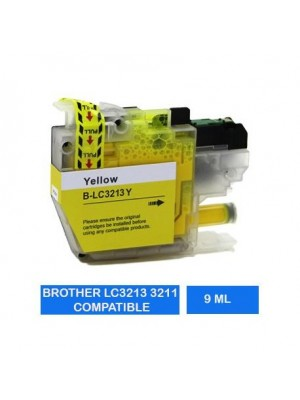 IBX INKJET BROTHER LC3213 YELLOW