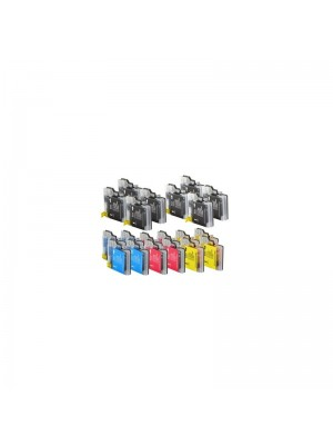 IBX INKJET BROTHER LC1100/980 PACK