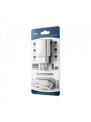 CARGADOR MOVIL 2.1A DUAL USB + CABLE IPHONE
