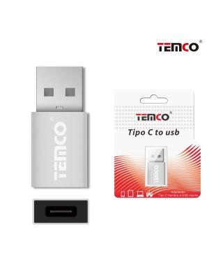 ADAPTADOR USB-C HEMBRA A USB A