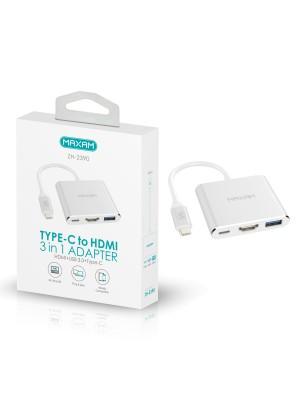 CONVERSOR USB TIPO C A HDMI USB3.0 TIPO C