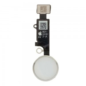 Flex Boton Home para iPhone 7, 7 Plus, 8, 8 Plus, SE 2020 - Blanco - Funciona Boton Home - Sin Huella